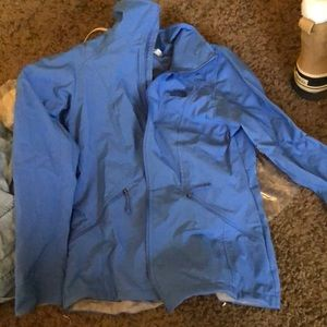 NWT Blue North Face Softshell Jacket